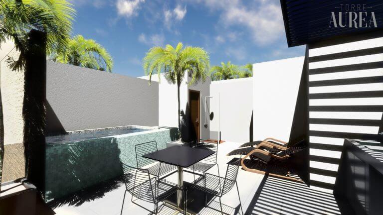 Roof garden loft